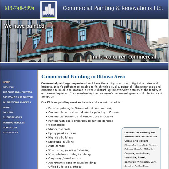 Commercial Painting and Renovations Ltd.