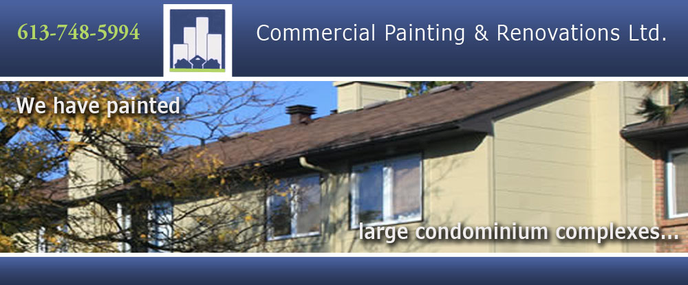 Commercial Painting & Renovations Ltd.: Residential and Business Interior and Exterior Painters