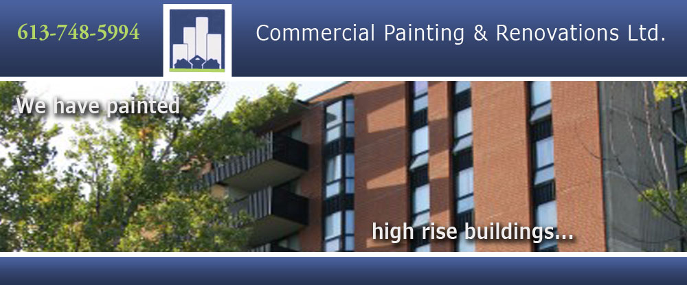 Commercial Painting & Renovations Ltd. - Interior & Exterior Painting Company in Ottawa